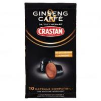 Crastan Ginseng & Caffè Da Zuccherare Capsule Compatibili Con Macchine Nespresso* 10 X