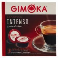 Gimoka Espresso Intenso 16 Capsule Compatibili Con Macchine Per Caffè Lavazza* A Modo Mio*