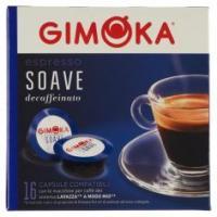 Gimoka Espresso Soave 16 Capsule Compatibili Con Macchine Per Caffè Lavazza* A Modo Mio*
