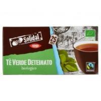 Tè Verde Deteinato Biologico 25 Filtri
