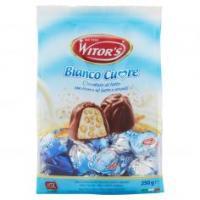 Witor's Bianco Cuore Cioccolato Al Latte Con Crema Al Latte E Cereali