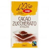 Cacao Zuccherato In Polvere