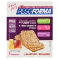 Pesoforma Il Mio Pasto 8 Sandwich Al Prosciutto E Formaggio**