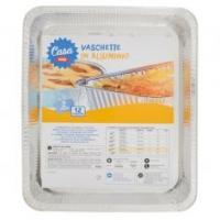 Soft Soft vaschette alluminio vassoio medi