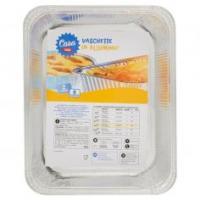 Soft Soft vaschette allumnio con coperchio f8 8 porzioni