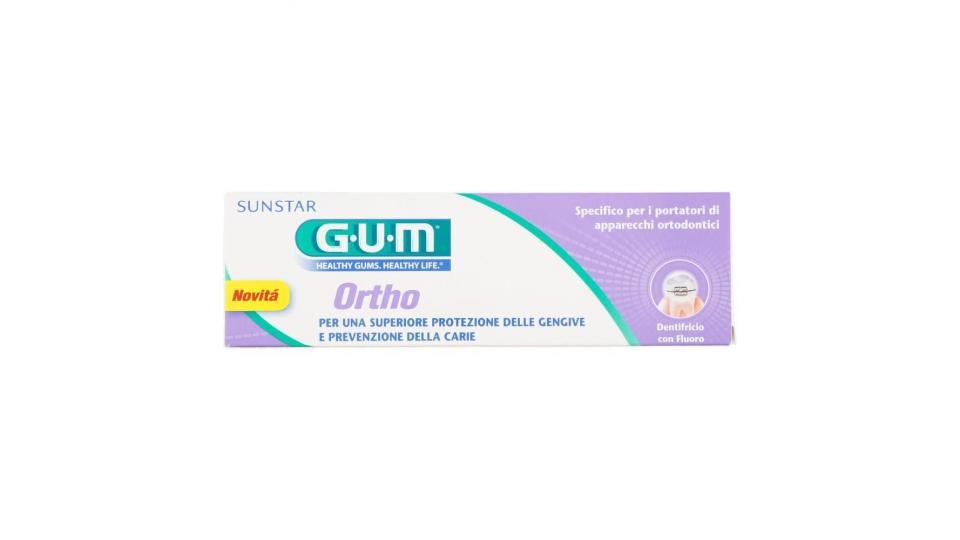 Gum Ortho Dentifricio Con Fluoro