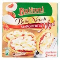 Buitoni Bella Napoli Margherita Mini Pizza Margherita Surgelata 300g (4 Mini Pizze)