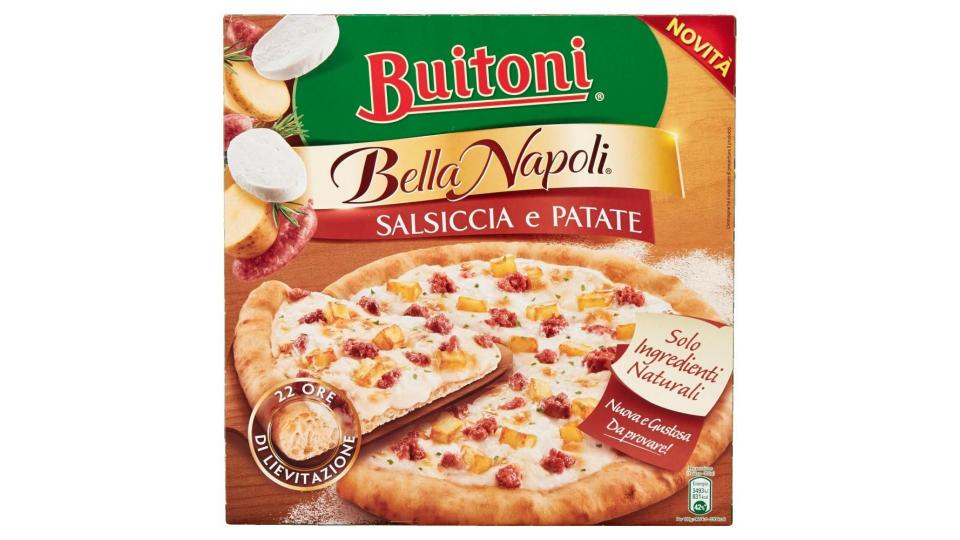 Buitoni Bella Napoli Salsiccia E Patate Pizza Con Salsiccia E Patate Surgelata 355g (1 Pizza)