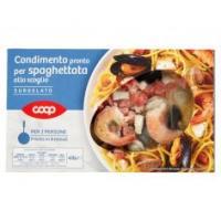 Condimento Pronto Per Spaghettata Allo Scoglio Surgelato