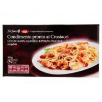 Condimento Pronto Ai Crostacei Con Scampi, Gamberi E Polpa D'astice Surgelato