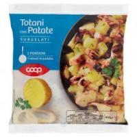 Totani Con Patate Surgelati