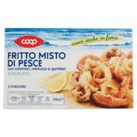 Fritto Misto Di Pesce Con Calamari, Merluzzo E Gamberi Surgelato