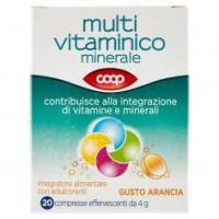 Multi Vitaminico Minerale Gusto Arancia