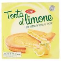 Torta Al Limone Con Ripieno Di Crema Al Limone