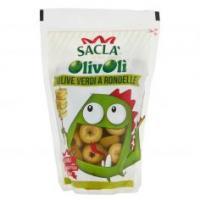 Saclà- Olivolì, Olive Verdi a Rondelle in Salamoia