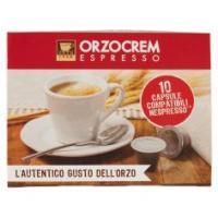 Orzocrem Espresso 10 Capsule