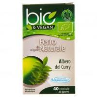 Bio&vegan Ferro Di Origine Naturale 40 Capsule