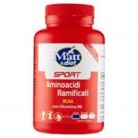 Matt&diet Sport Aminoacidi Ramificati Bcaa Con Vitamina B6 120 Compresse