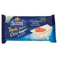 Scotti Crackers Di Riso Gr.200,biologici ,senza glutine