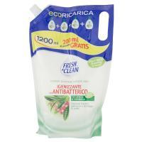 Fresh & Clean, Igienizzante con antibatterico Tè Verde e Verbena crema sapone ecoRicarica