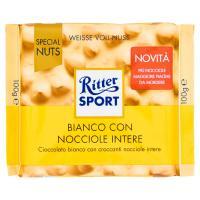 Ritter Sport Bianco con Nocciole Intere