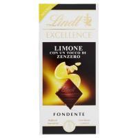 Lindt Excellence Limone con un Tocco di Zenzero Fondente