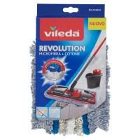 Vileda Revolution Microfibra + Cotone Ricambio
