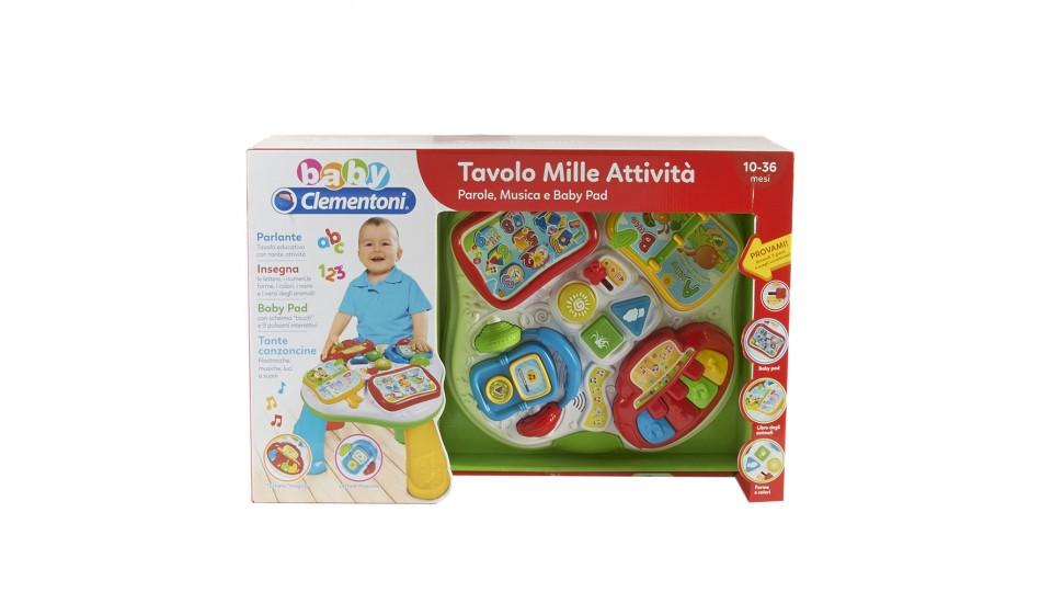 Tavolo Mille Attivit.Clementoni Baby Tavolo Mille Attivita 3 Batterie Tipo Aa