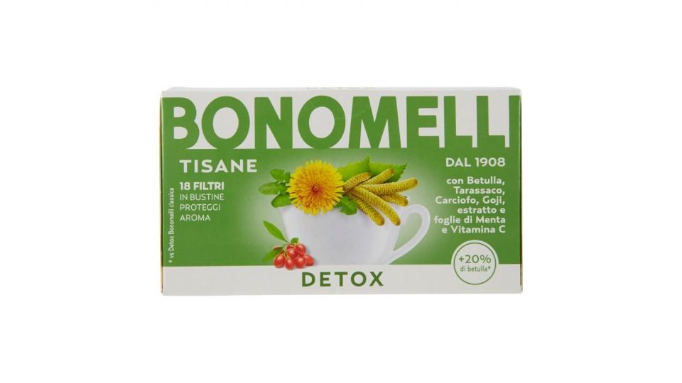 tisana detox bonomelli gastroenterite negli adulti