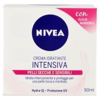 Nivea - Crema Idratante Intensiva, Pelle Secche E Sensibili