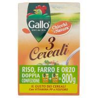 Gallo - 3 Cereali, Riso, Farro E Orzo
