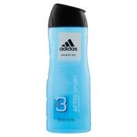 Adidas,  After Sport Hydrating 3in1 gel doccia shampoo