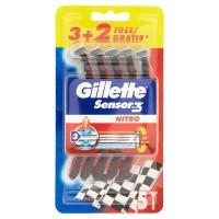 Gillette, Sensor3 Nitro Rasoio da Uomo Usa e Getta - 3 rasoi +
