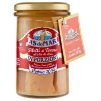 AsDoMar, filetti di tonno all'olio di oliva in porzioni