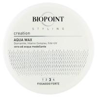 Biopoint, Styling Creation fissaggio forte cera ad acqua modellante