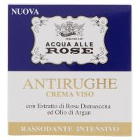 Acqua alle Rose Antirughe Crema viso rassodante, con Estratto di Rosa Damascena ed Olio di Argan, trattamento intensivo