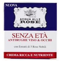 Acqua alle Rose Senza Età Antirughe Viso & Occhi Crema ricca e nutriente, con estratti di 5 rose nobili