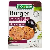 Kio-Ene Burger vegetale alle melanzane