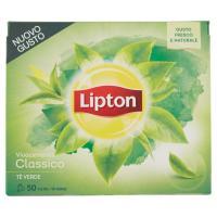 Lipton, Vivacemente classico Tè Verde 50 filtri