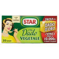 Star, il Mio Dado Vegetale 20 dadi