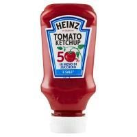 Heinz, tomato ketchup 50% in meno di zucchero e sale