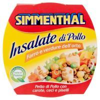 Simmenthal, Insalate di Pollo farro e verdure dell'orto