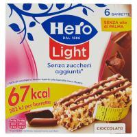 Hero, Light Muesly cioccolato barrette