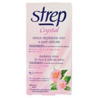 Strep, Crystal strisce depilatorie viso e parti delicate