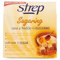 Strep, Sugaring cera a freddo allo zucchero