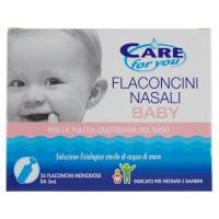 Care for you, Flaconcini Nasali Baby soluzione fisiologica