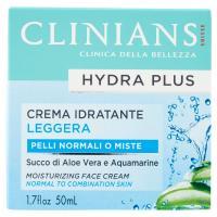 Clinians Hydra Basic Crema idratante leggera, per pelli normali e miste