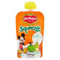 Del Monte, Squeezie mela pera banana pesca Disney
