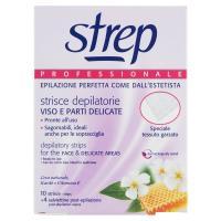 Strep, Professionale strisce depilatorie viso e parti delicate