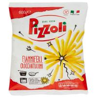 Pizzoli, Fiammiferi croccantixximi surgelati